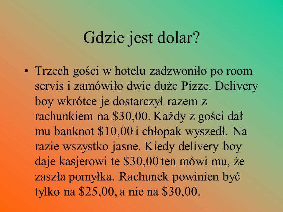 Gdzie jest dolar