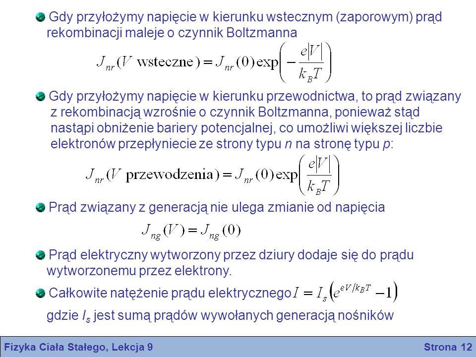 Fizyka Ciała Stałego, Lekcja 9 Strona 12