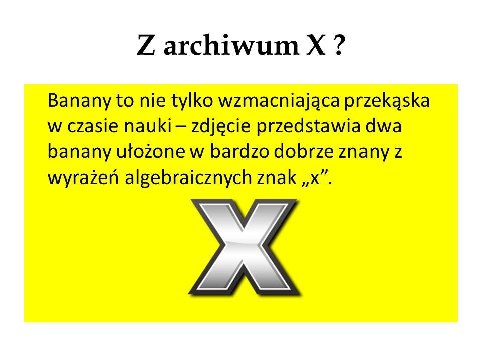 Z archiwum X