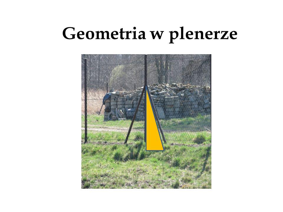 Geometria w plenerze