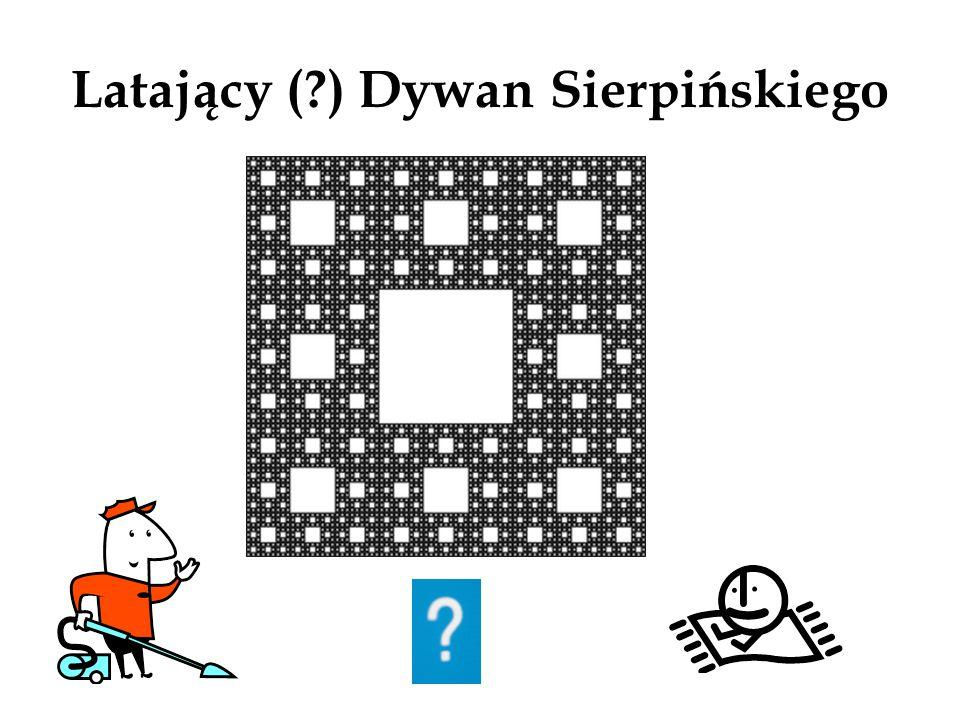 Latający ( ) Dywan Sierpińskiego