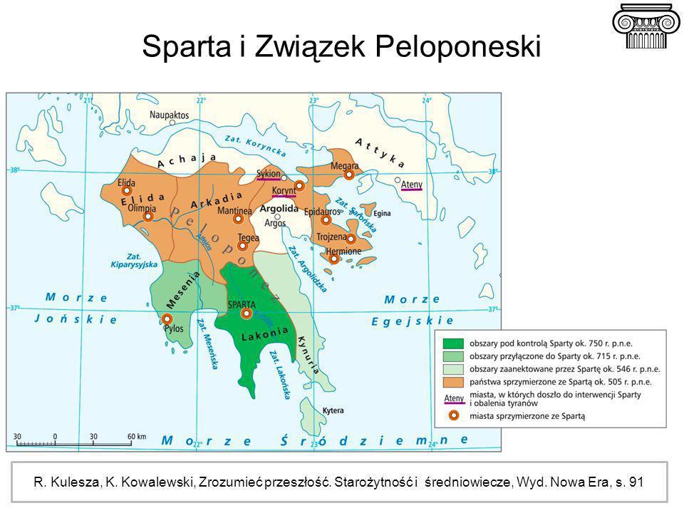 Sparta i Związek Peloponeski