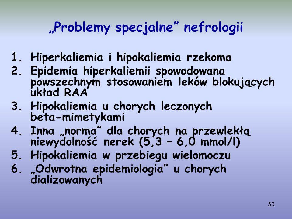 """Problemy specjalne nefrologii"
