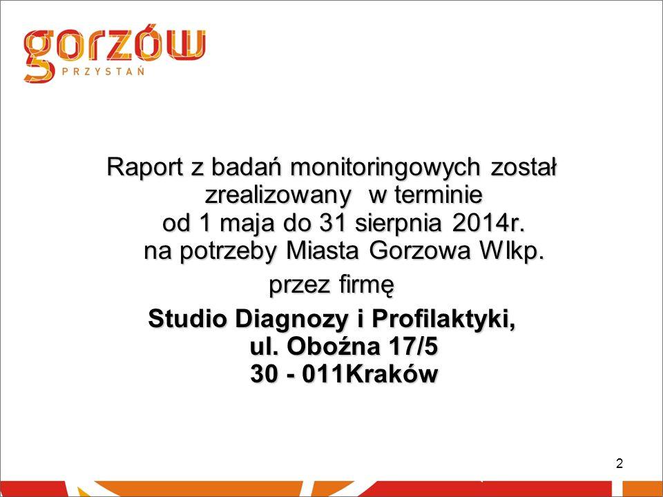 Studio Diagnozy i Profilaktyki, ul. Oboźna 17/5 30 - 011Kraków
