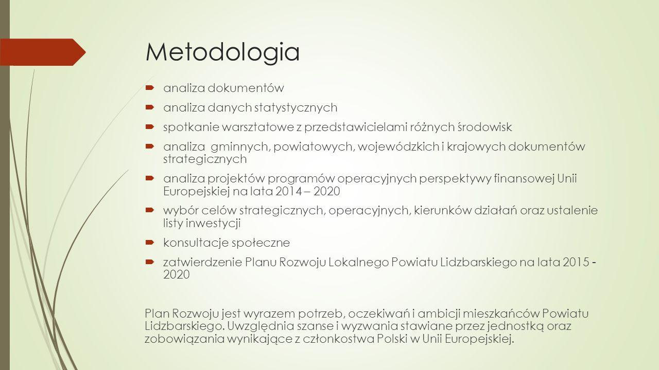 Metodologia analiza dokumentów analiza danych statystycznych