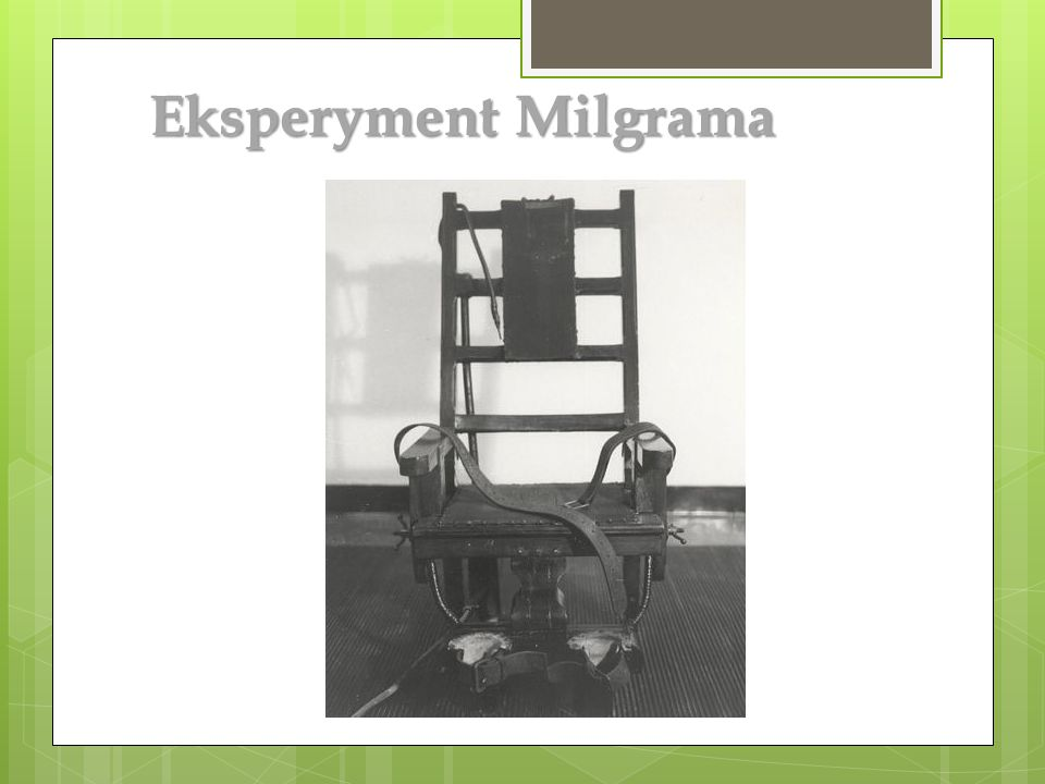 Eksperyment Milgrama