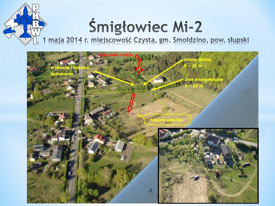 1 maja 2014 r. miejscowość Czysta, gm. Smołdzino, pow. słupski
