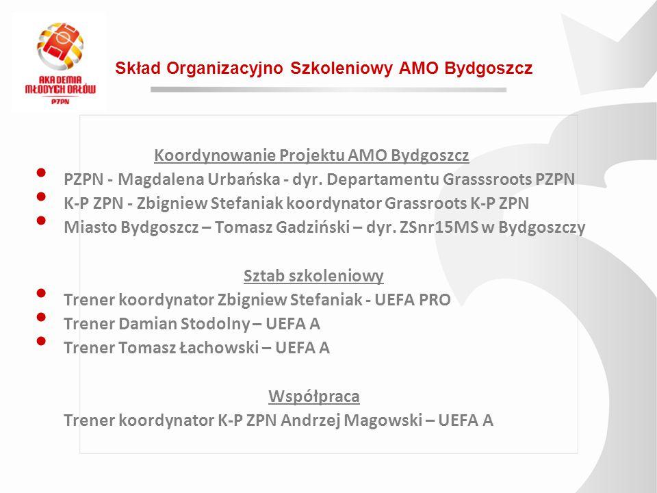 Koordynowanie Projektu AMO Bydgoszcz