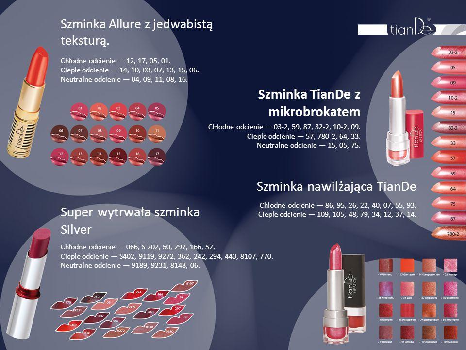 Szminka TianDe z mikrobrokatem