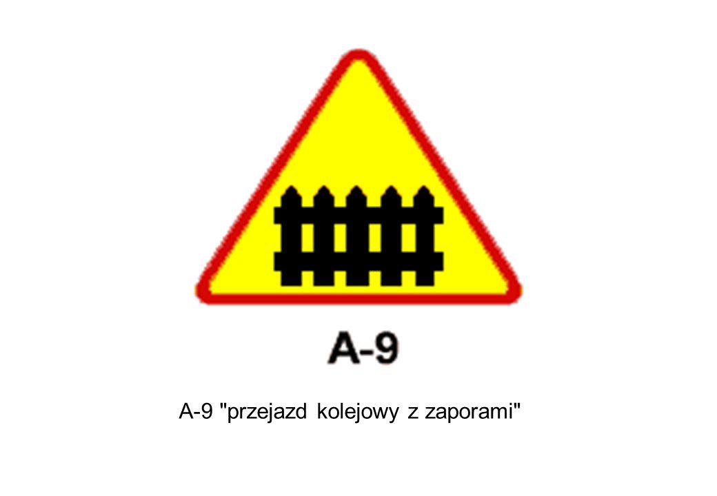 A-9 przejazd kolejowy z zaporami