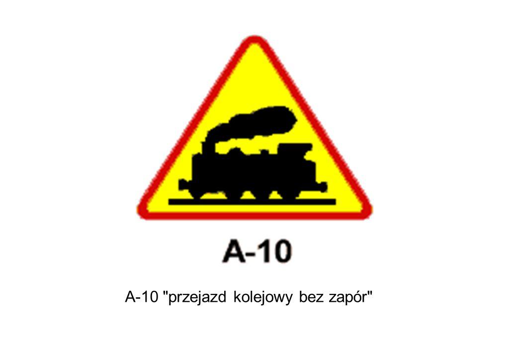A-10 przejazd kolejowy bez zapór