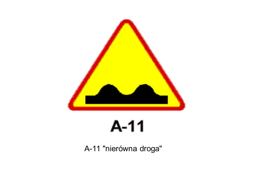 A-11 nierówna droga