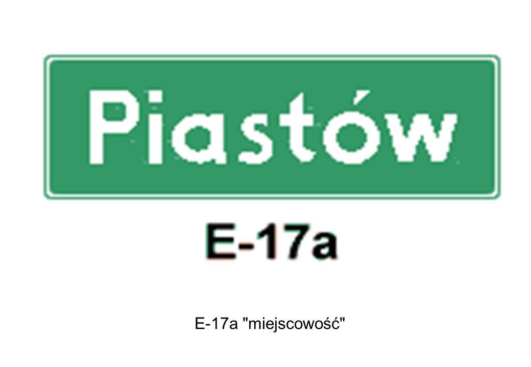 E-17a miejscowość