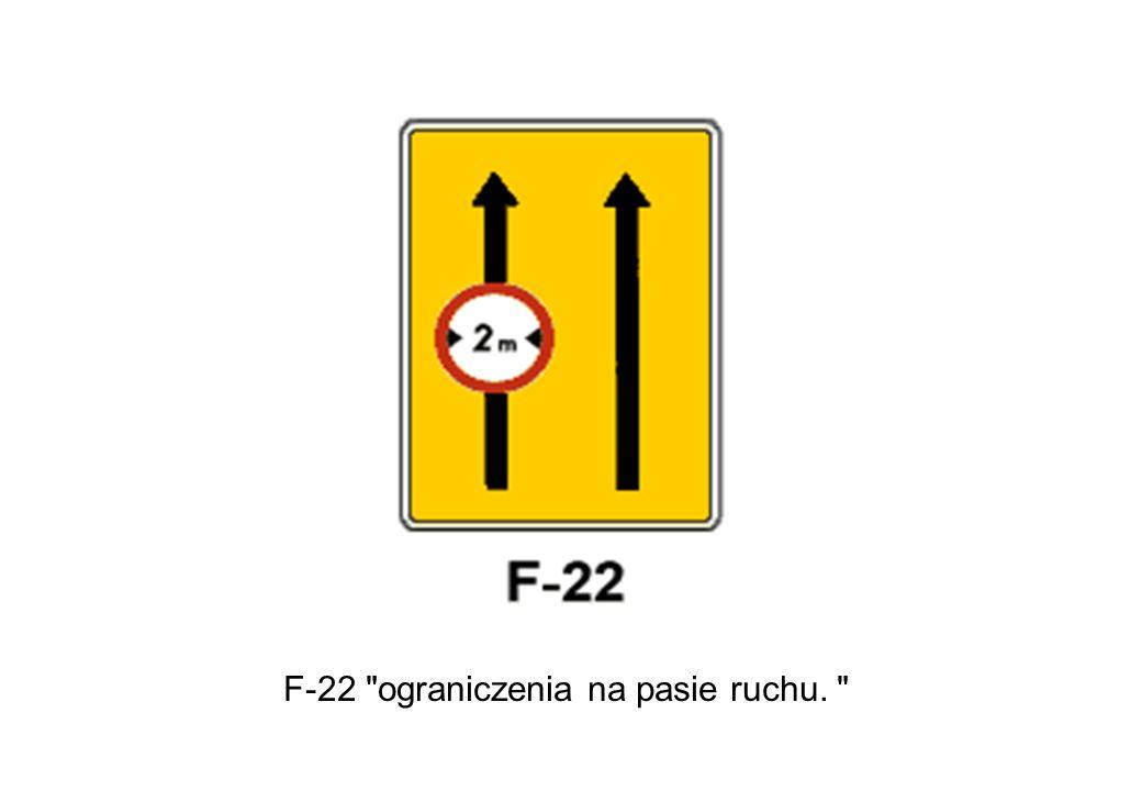 F-22 ograniczenia na pasie ruchu.