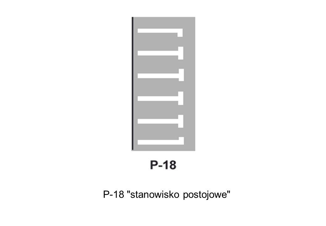 P-18 stanowisko postojowe