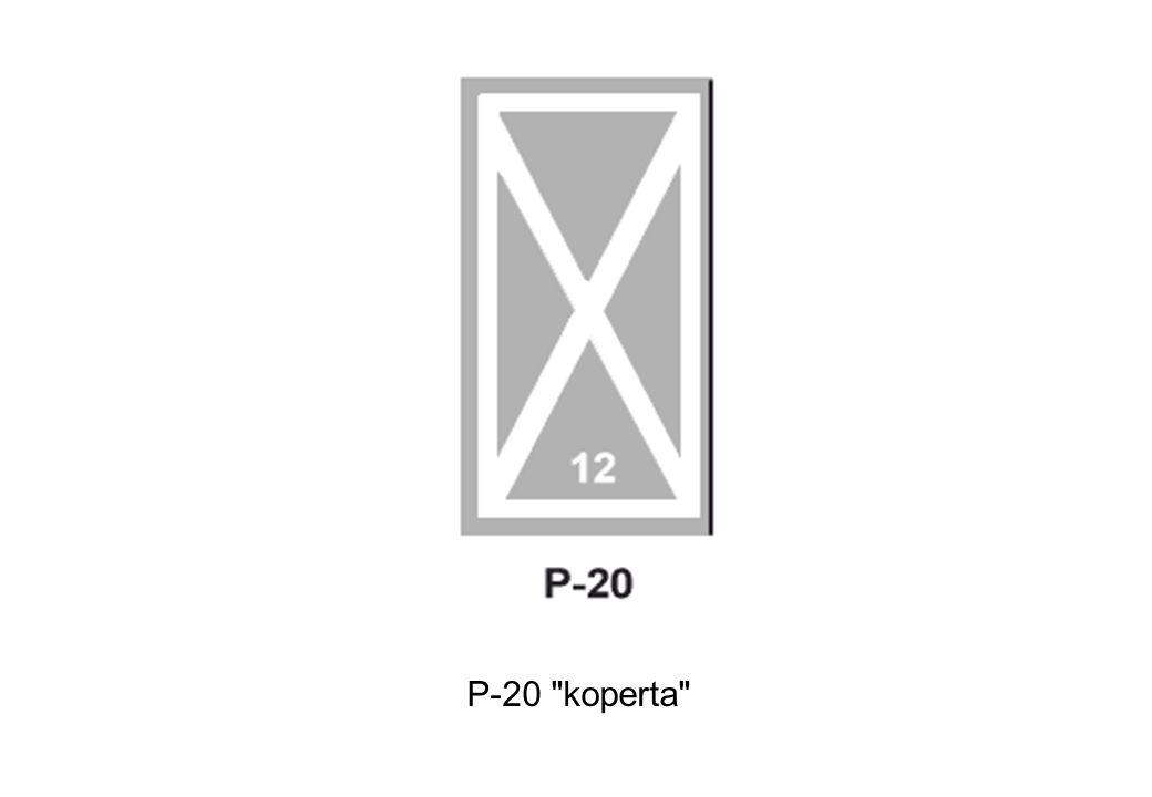 P-20 koperta