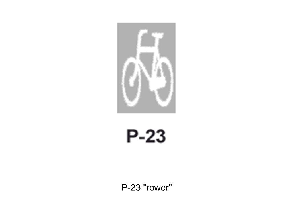 P-23 rower