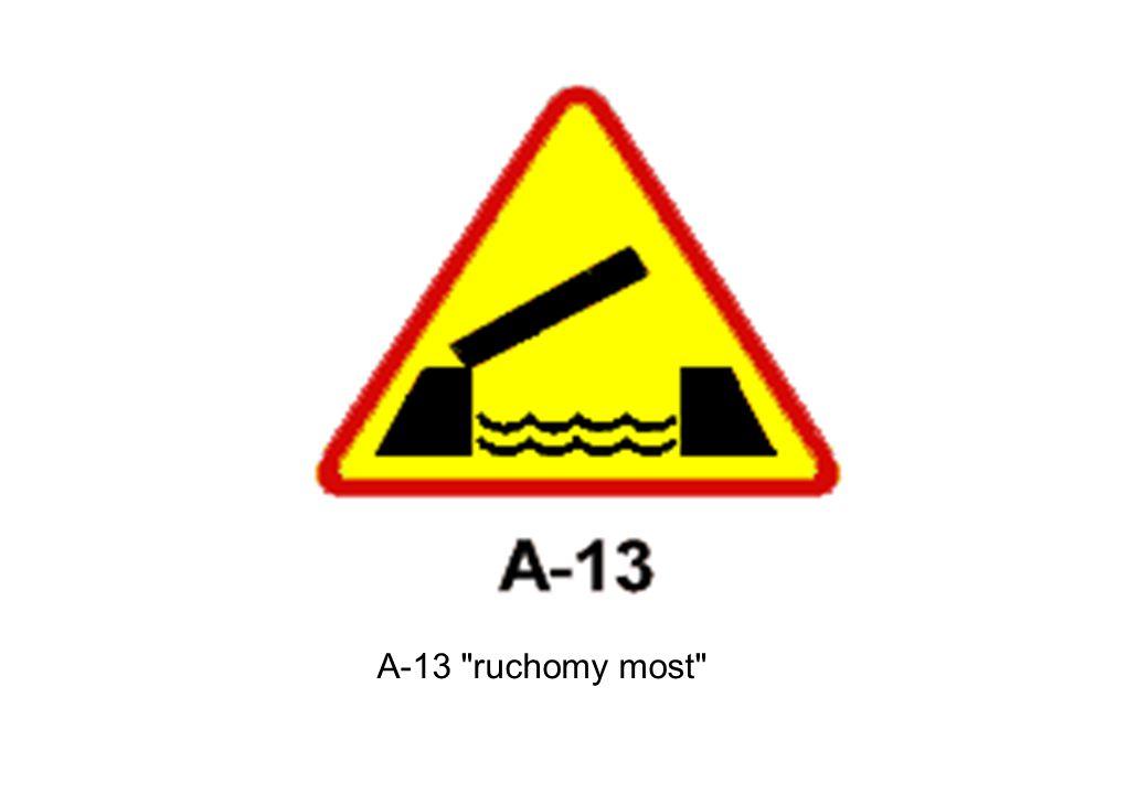 A-13 ruchomy most
