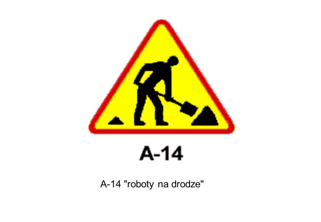 A-14 roboty na drodze