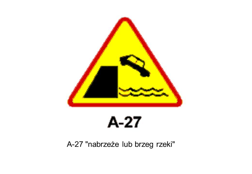 A-27 nabrzeże lub brzeg rzeki
