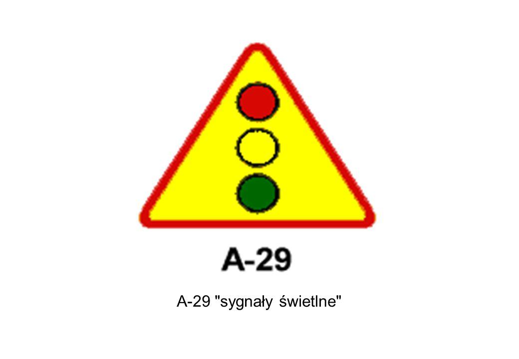A-29 sygnały świetlne