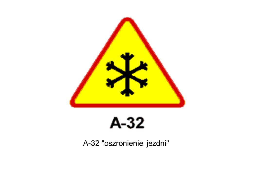 A-32 oszronienie jezdni