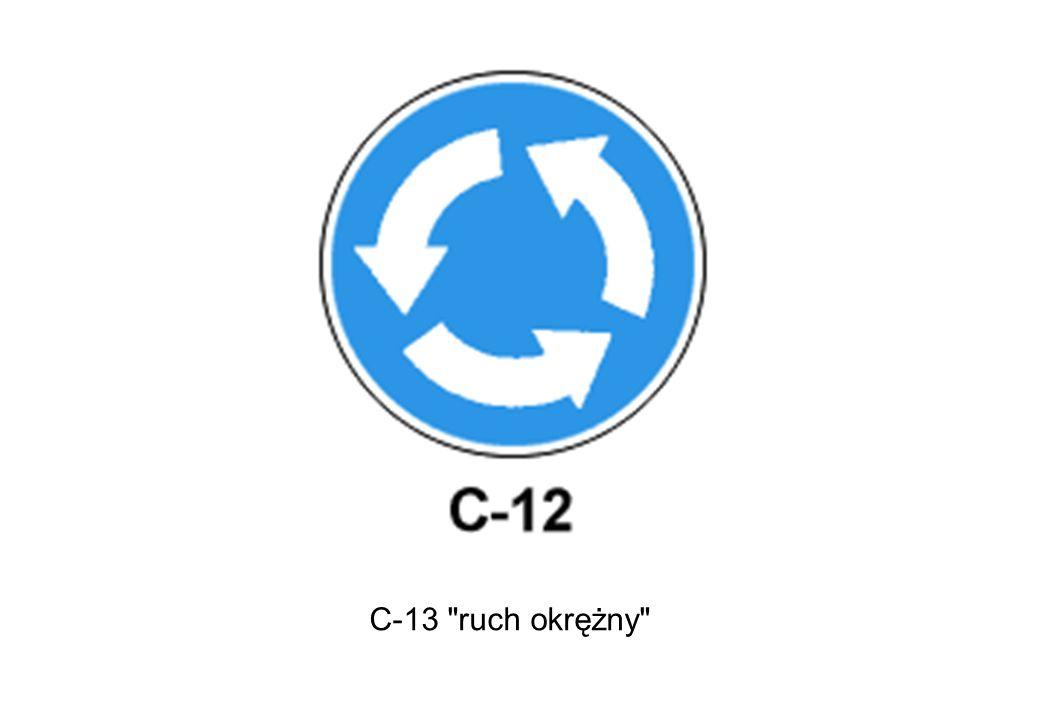 C-13 ruch okrężny