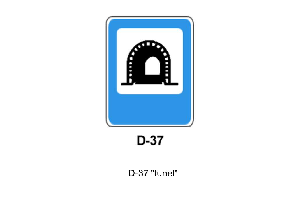 D-37 tunel