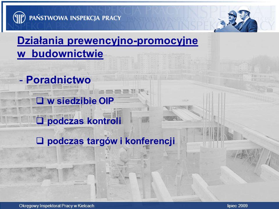Działania prewencyjno-promocyjne w budownictwie