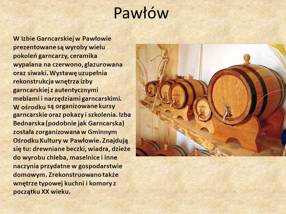 Pawłów W Izbie Garncarskiej w Pawłowie
