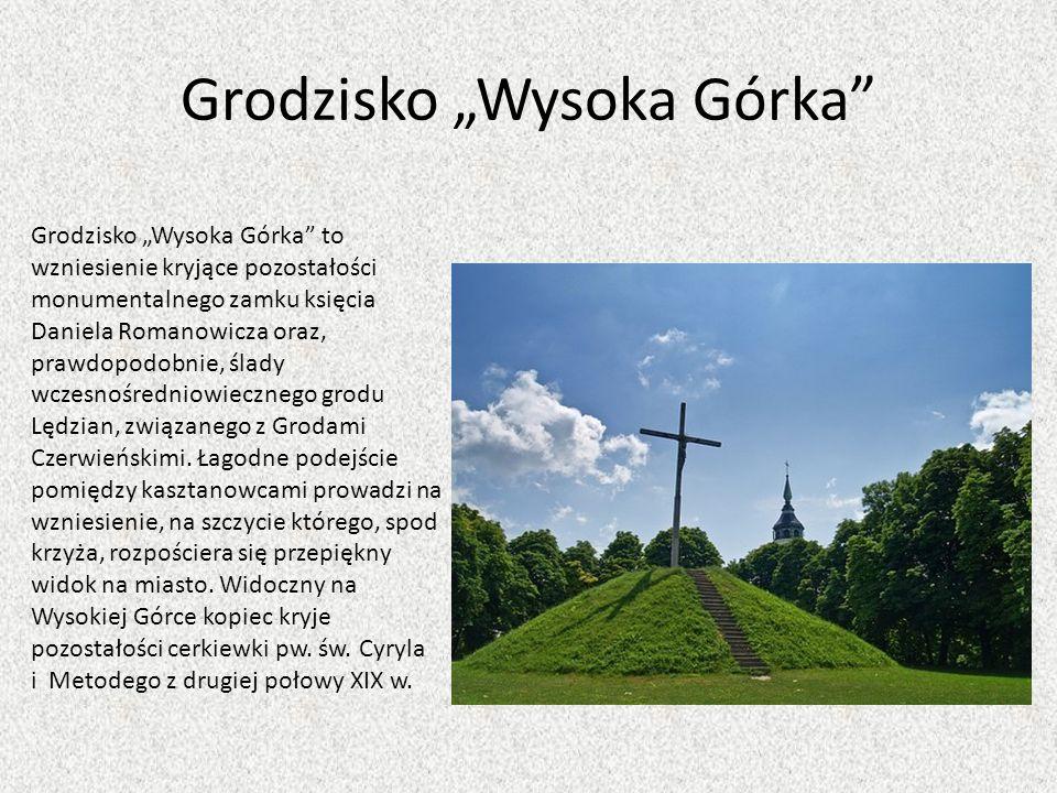 """Grodzisko """"Wysoka Górka"""