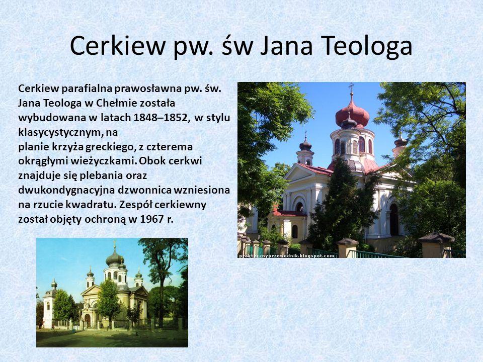 Cerkiew pw. św Jana Teologa