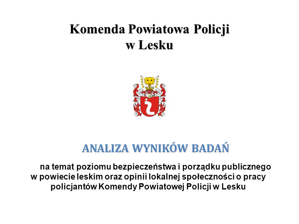 Komenda Powiatowa Policji