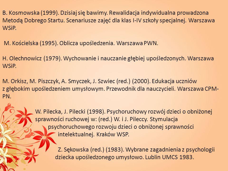 B. Kosmowska (1999). Dzisiaj się bawimy