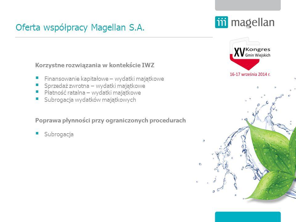 Oferta współpracy Magellan S.A.
