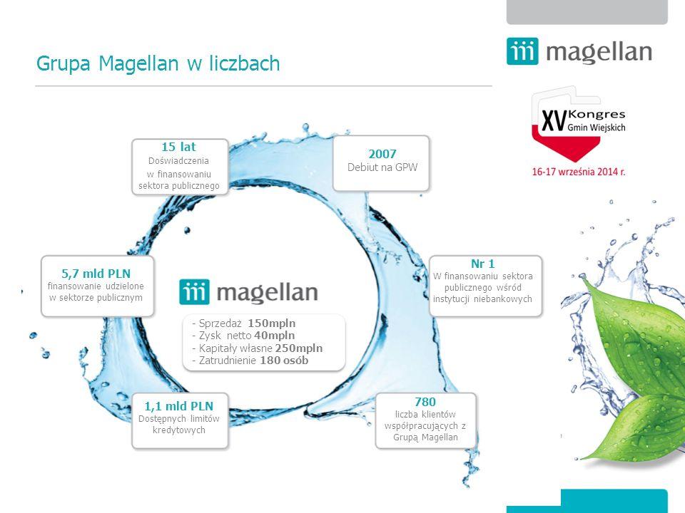 Grupa Magellan w liczbach