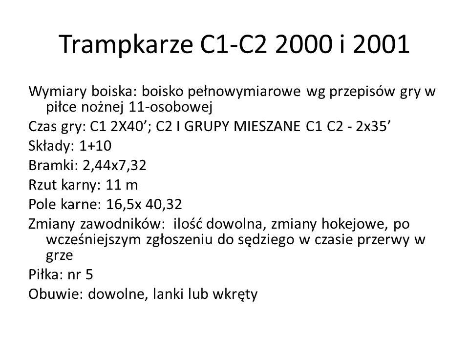 Trampkarze C1-C2 2000 i 2001