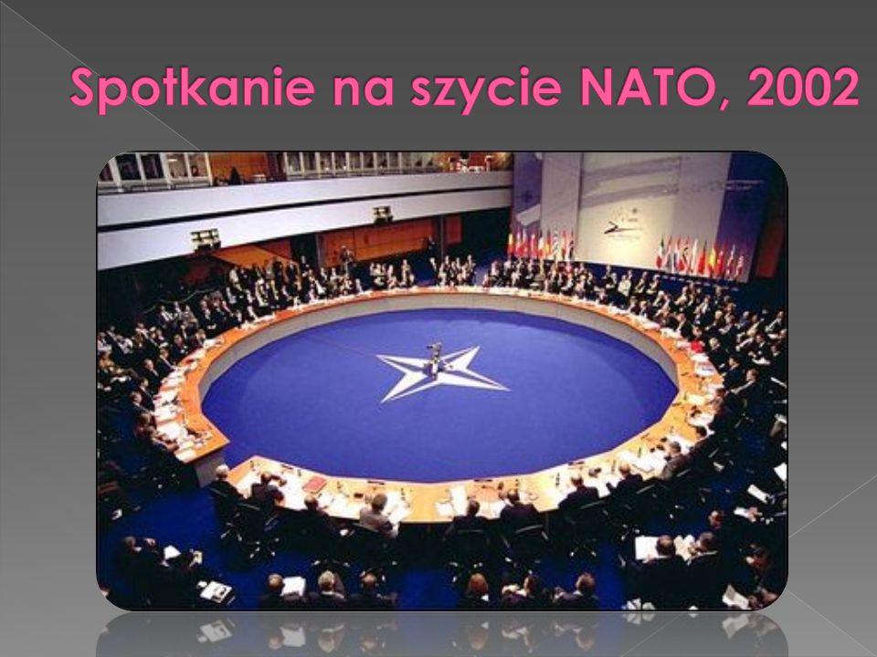 Spotkanie na szycie NATO, 2002