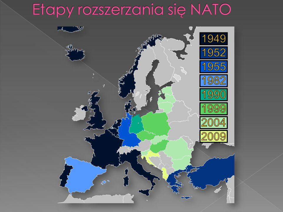 Etapy rozszerzania się NATO