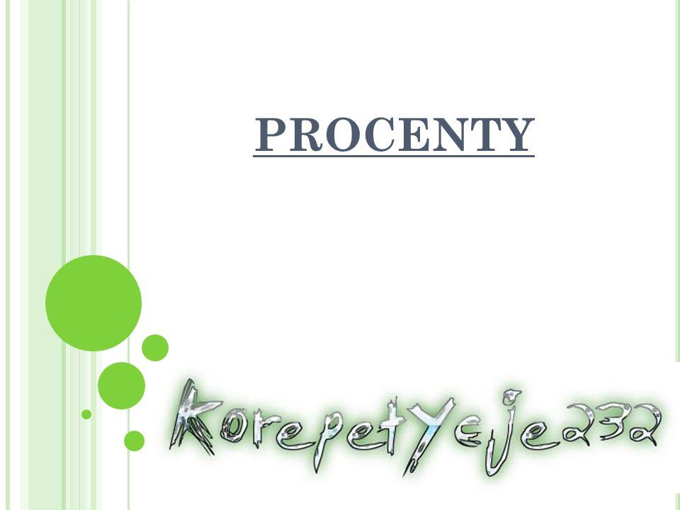 PROCENTY