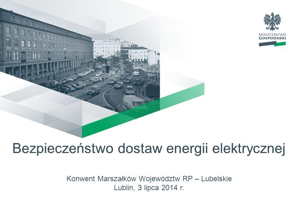 Bezpieczeństwo dostaw energii elektrycznej