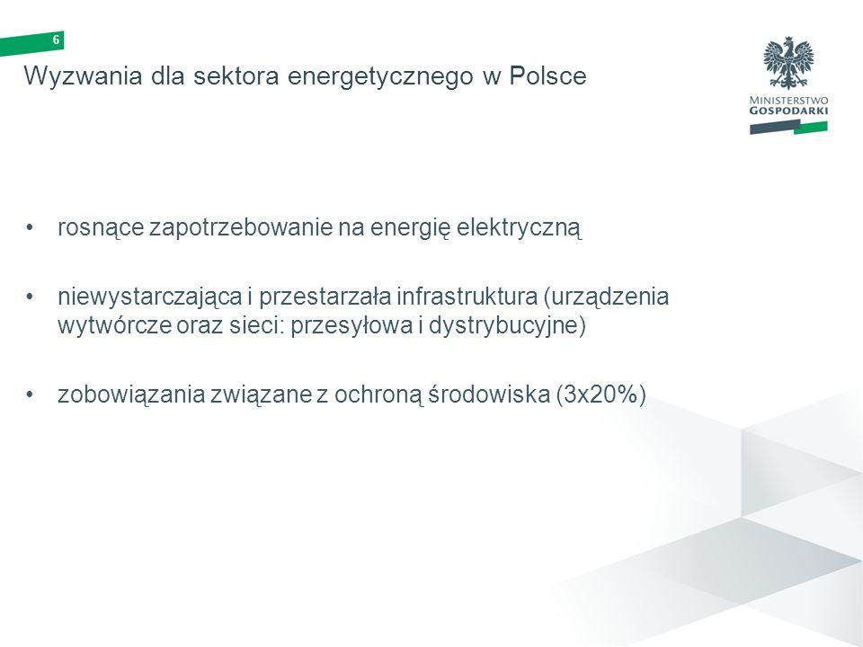 Wyzwania dla sektora energetycznego w Polsce
