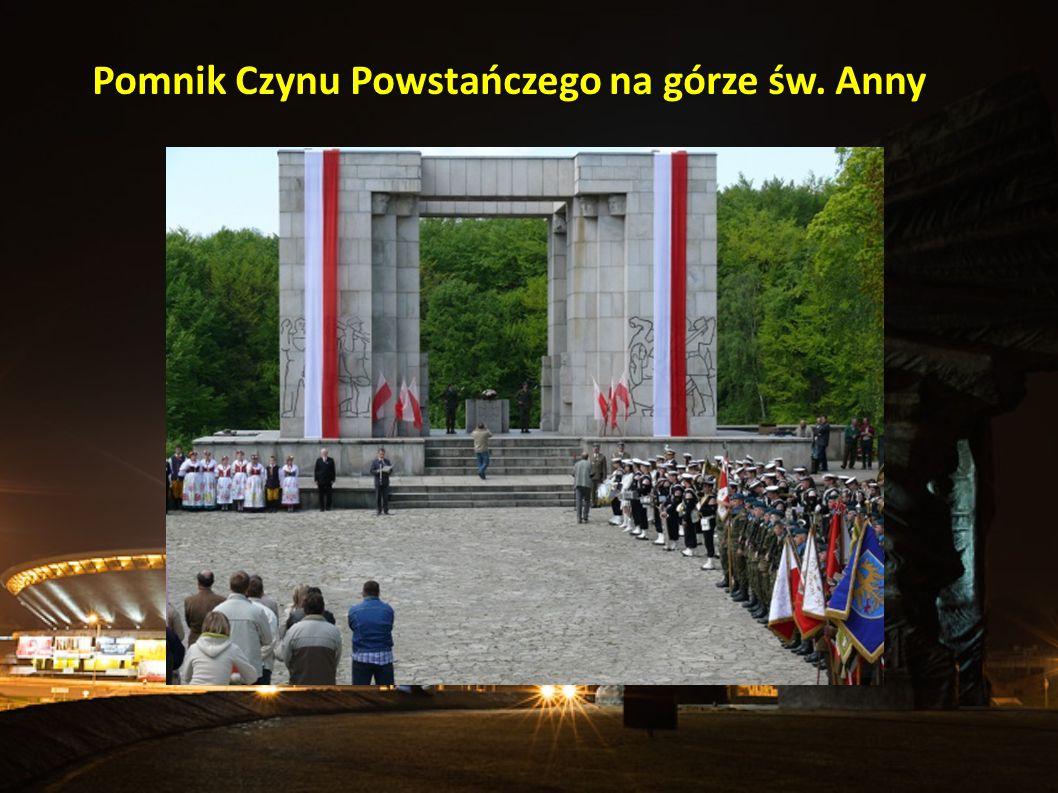 Pomnik Czynu Powstańczego na górze św. Anny