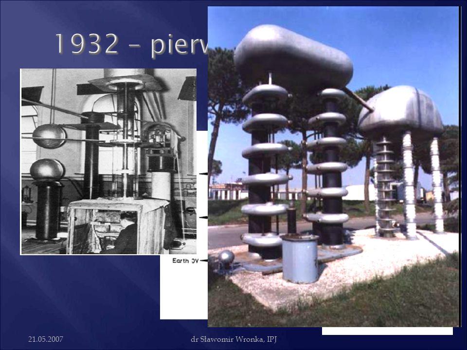 1932 – pierwszy akcelerator