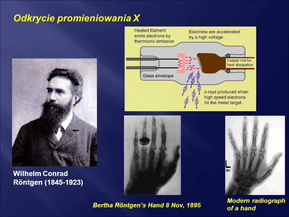 Odkrycie promieniowania X