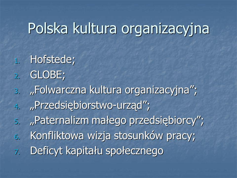 Polska kultura organizacyjna
