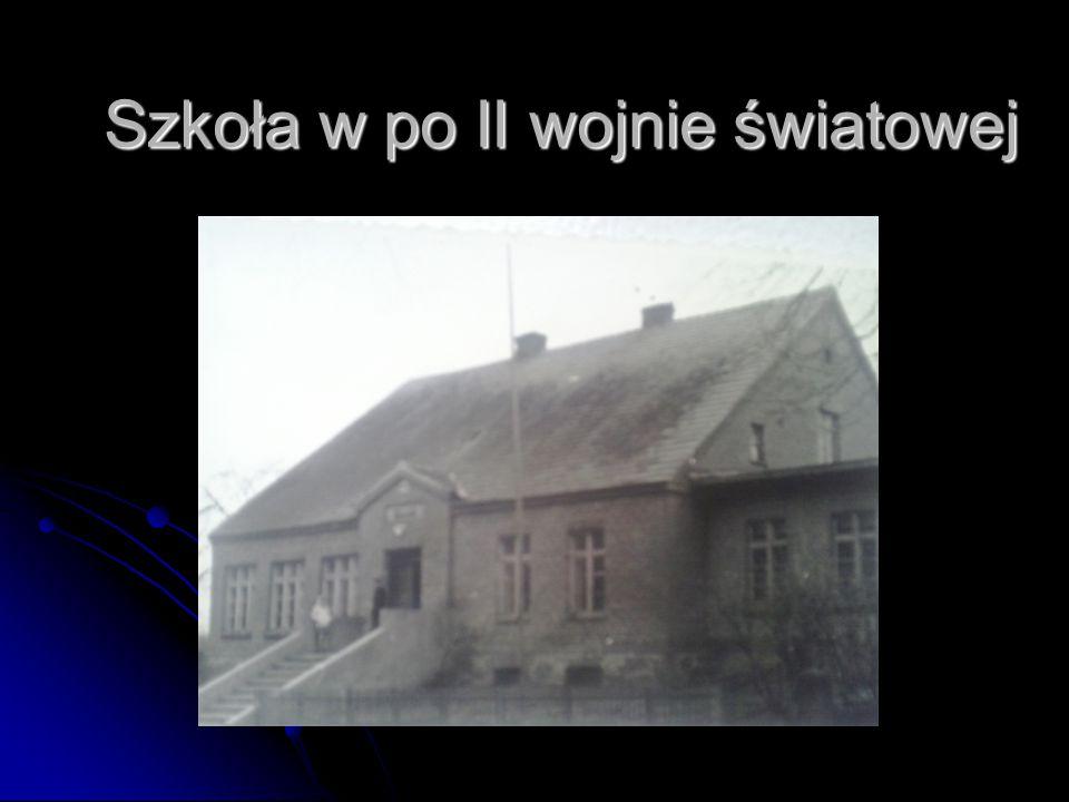 Szkoła w po II wojnie światowej