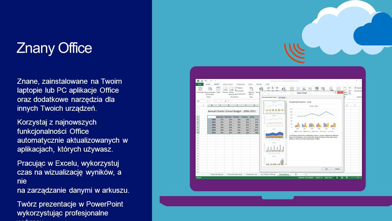 Znany Office Microsoft Office365. 4/7/2017.