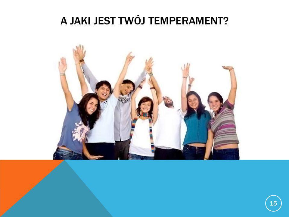 A jaki jest twój temperament