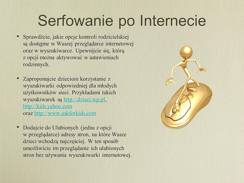 Serfowanie po Internecie